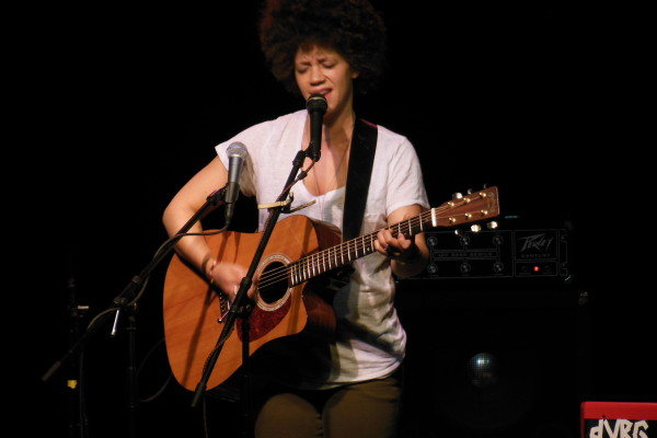 Chastity Brown performs at the St. Mane Theatre.
