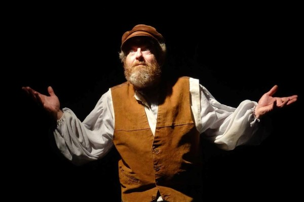Lanesboro Mayor Robin Krom as Tevye in the Lanesboro Community Theater's 2014 production of Fiddler on the Roof.