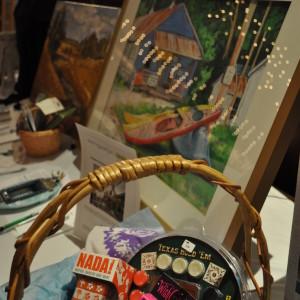 Auction items galore - original artwork, gifts, and unique experiences.