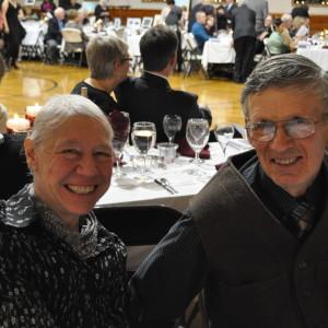 Ed & Verna Taylor enjoy the evening.