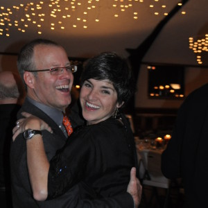 Barb & Pete Keith dance up a storm to the Swingsation Orchestra.