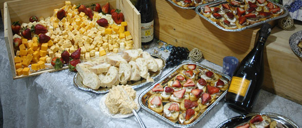 Hors D'Oeuvres by Johnny Mango