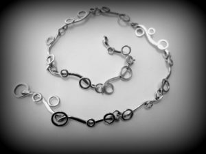 Sea Wave necklace by Ann Madland